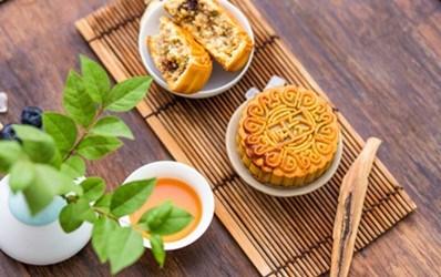 中秋团圆节,上开饭领月饼2015-9-5至2015-9-17