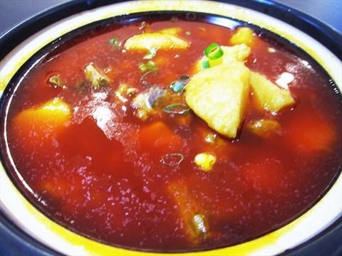 砂锅酸�9ॹ�y�h_成都 西南交大  小乔砂锅 食评 随便吃吃  荤菜 土豆排骨 1份 16元 酸
