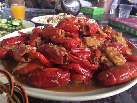 太和大钳王油焖大虾图片
