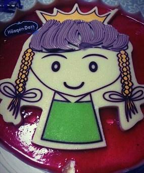儿童画手工制作蛋糕
