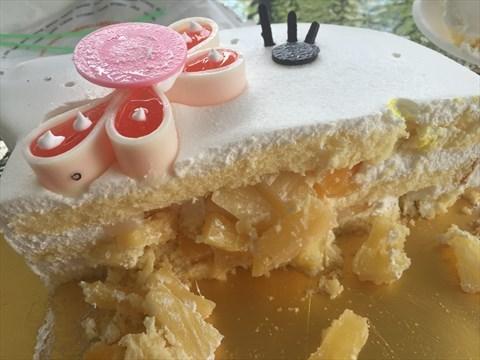 第一次吃如此可爱的蛋糕 - 面包新语评价 - 深圳开饭喇