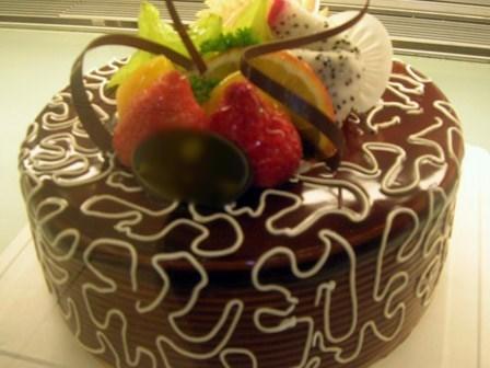 巧克力生日蛋糕 - 三里屯的cream